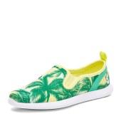 简帛JUMBO2017春季新款海边度假休闲鞋女平底单鞋透气轻便7335